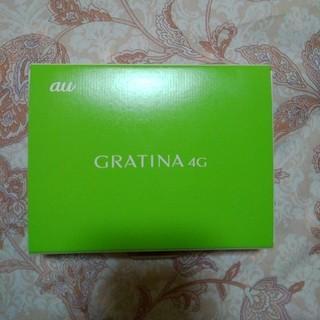 キョウセラ(京セラ)の送料無料 au  GRATINA 4G  ガラホ中古(携帯電話本体)
