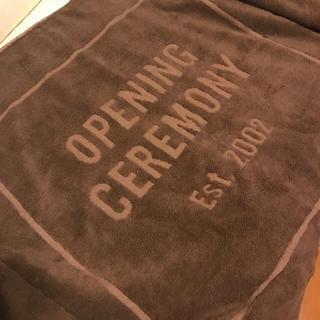 オープニングセレモニー(OPENING CEREMONY)の【新品未使用】オープニングセレモニー ビッグタオル(タオルケット)