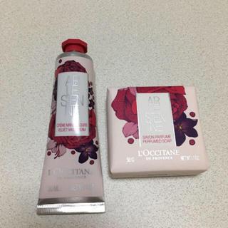 ロクシタン(L'OCCITANE)の新品 未使用 ロクシタン リボンアルル ハンドクリーム 石鹸(ハンドクリーム)