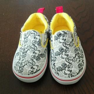 ディズニー(Disney)の♪新品14㎝ミッキー靴♪(スニーカー)