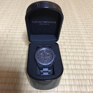 エンポリオアルマーニ(Emporio Armani)の訳あり EMPORIO ARMANI CERAMICA  腕時計  AR1458(腕時計(アナログ))