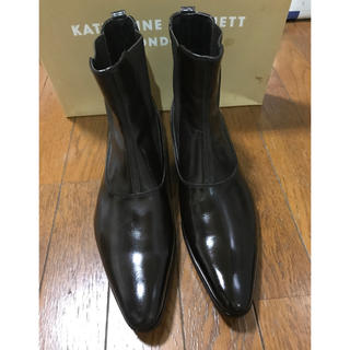 キャサリンハムネット(KATHARINE HAMNETT)の(KATHARINE HAMNETT) メンズ サイドゴアブーツ (サイズ25)(ブーツ)