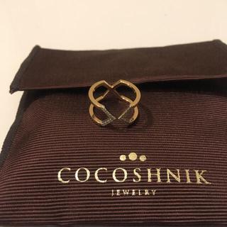 ココシュニック(COCOSHNIK)のココシュニックダイヤリング今月いっぱい(リング(指輪))
