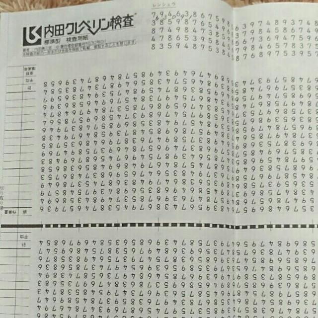 検査 対策 クレペリン 【地獄】クレペリン検査の概要と対策方法のまとめ【採点基準】