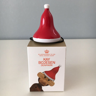カイボイスン(Kay Bojesen)の【新品】カイボイスンモンキー Sサイズ用 クリスマスハット ①(おもちゃ/雑貨)