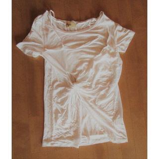 ハリコットルージュ(HARICOT ROUGE)の値下げ! ハリコットルージュ Tシャツ ホワイト(Tシャツ(半袖/袖なし))