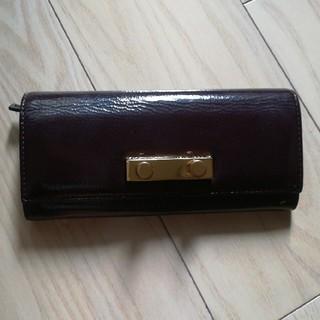 マルニ(Marni)のMARNI エナメル長財布(財布)