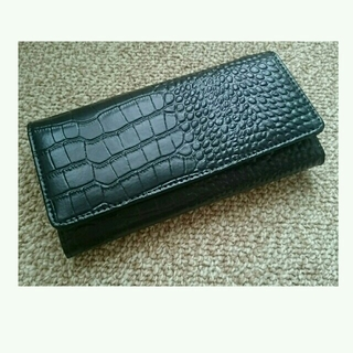 シマムラ(しまむら)の黒の長財布(財布)