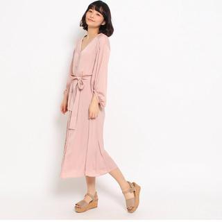 クチュールブローチ(Couture Brooch)の新品♡クチュールブローチ サテンロングワンピース♡(ロングワンピース/マキシワンピース)