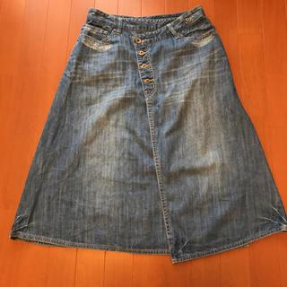 サマンサモスモス(SM2)の⭐️ SM2  デニムスカート(ひざ丈スカート)