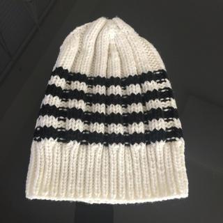 ルシェルブルー(LE CIEL BLEU)のルシェルブルー ニット帽 ボーダー(ニット帽/ビーニー)