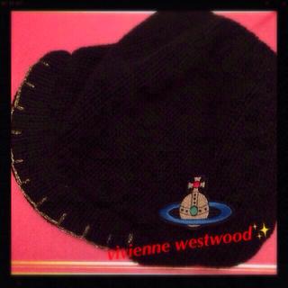 ヴィヴィアンウエストウッド(Vivienne Westwood)のvivienneニット帽🌹✨(キャップ)