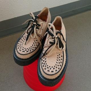 ジョージコックス(GEORGE COX)の【渋谷フロンティア】ラバーソールシューズ 24㎝(ローファー/革靴)