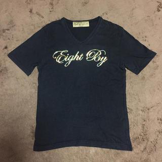 エイトバイ(Eight by)のEight By Tシャツ ブラック (Tシャツ/カットソー(半袖/袖なし))