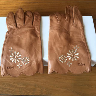 クロエ(Chloe)のクロエの本革手袋 (^ ^)(手袋)