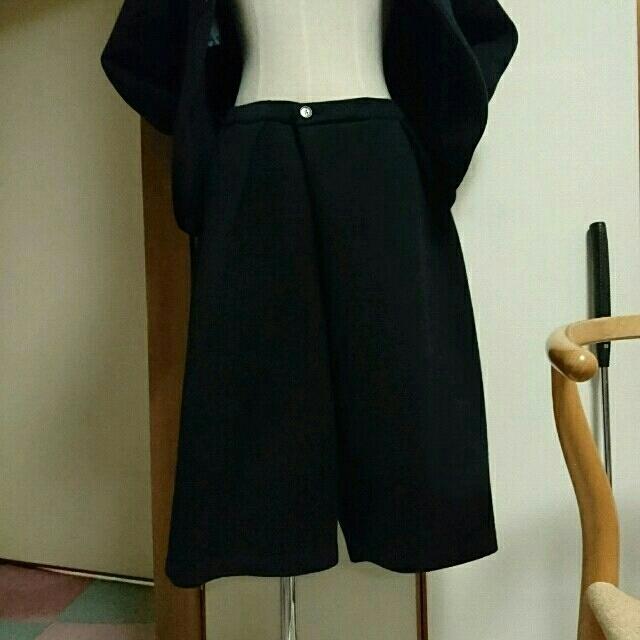 BLUE BLUE(ブルーブルー)のBLUE BLUE JAPAN ノーカラージャケット パンツ スーツ レディースのフォーマル/ドレス(スーツ)の商品写真