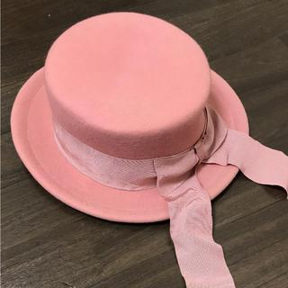 メタモルフォーゼタンドゥフィーユ(metamorphose temps de fille)のメタモルフォーゼ フェルトカンカン帽(ハット)