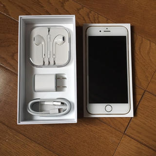 美品 SIMフリー iPhone6s 64GB Gold ゴールド docomo