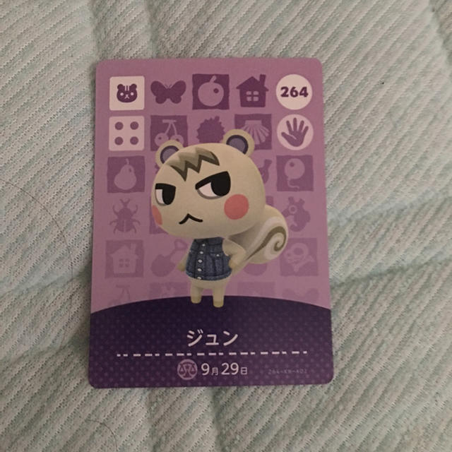 Amiibo カード ジュン