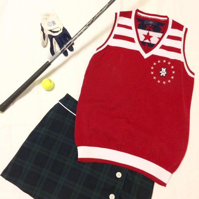 0d8c30374f576 Callaway Golf(キャロウェイゴルフ)のゴルフ女子レディースゴルフウェアニットベストキャロウェイキャロウェイ