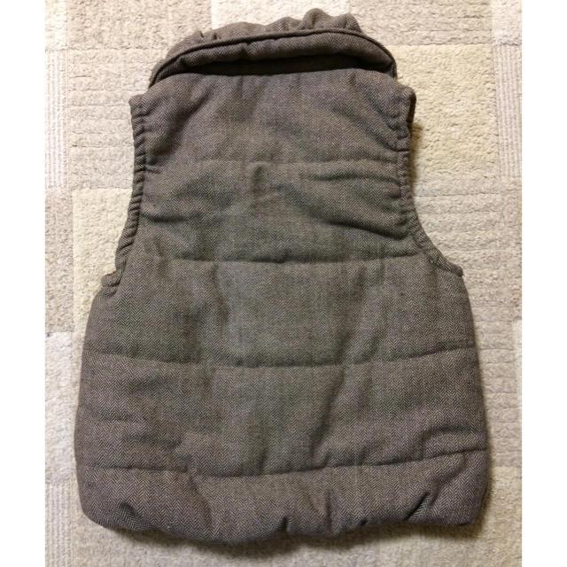 b7598968aff4ed 新品未使セール レディース ダウンベスト ブラウン Mサイズ ジャケット レディースのジャケット/アウター