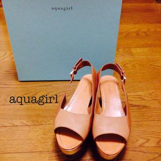 アクアガール(aquagirl)の【aquagirl】ウエッジサンダル(サンダル)