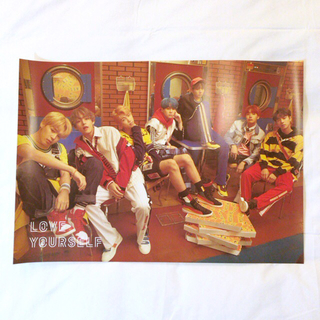BTS LOVE YOURSELF ポスター