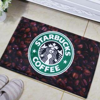 大人気❤ コーヒー柄 スターバックスバスマット スタバ