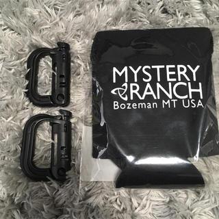 ミステリーランチ(MYSTERY RANCH)のミステリーランチ ストラップクージー ブラック 非売品 レア(バッグパック/リュック)