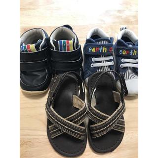 ベビーギャップ(babyGAP)のbaby〜kids靴&サンダル3点セット(スニーカー)