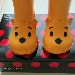 ダイアナ(DIANA)のDIANA プーさん長靴 15センチ(長靴/レインシューズ)