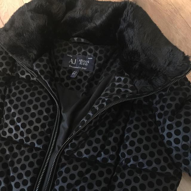 new concept 71166 427c9 1月末で出品終了!アルマーニ ジーンズ 中綿ジャケット ショートコート | フリマアプリ ラクマ