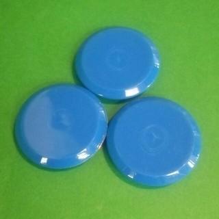 ポイント消化 直径5cm カラーマグネット ブルー 3個セット(その他)