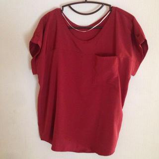 ジーユー(GU)のポケット付きブラウス(シャツ/ブラウス(半袖/袖なし))