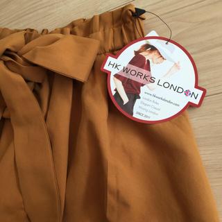 シマムラ(しまむら)の今期新作 HK リボンイレヘムスカート(ロングスカート)