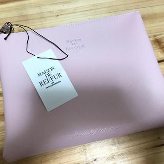 メゾンドリーファー(Maison de Reefur)の新品タグ付 メゾンドリーファー♡シンセティック レザーポーチ(ポーチ)