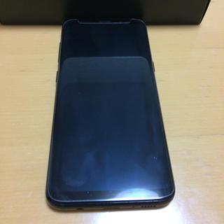 サムスン(SAMSUNG)のau Galaxy S8(SCV36) ミッドナイトブラック(スマートフォン本体)