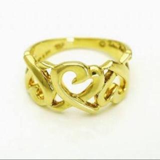ティファニー(Tiffany & Co.)のティファニー K18 リング  パロマピカソ ラビングハート(リング(指輪))