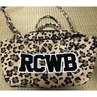 ロデオクラウンズワイドボウル(RODEO CROWNS WIDE BOWL)のRCWB 2wayバッグ(ハンドバッグ)