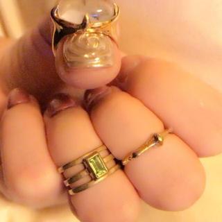 オープニングセレモニー(OPENING CEREMONY)のmaiden リング ファランジリング  DISCO  関節リング(リング(指輪))