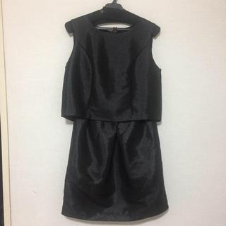 マーキュリーデュオ(MERCURYDUO)のブラックシャイニードレス(ウェディングドレス)