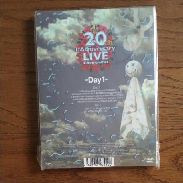 larc en ciel 20th anniversary dvd