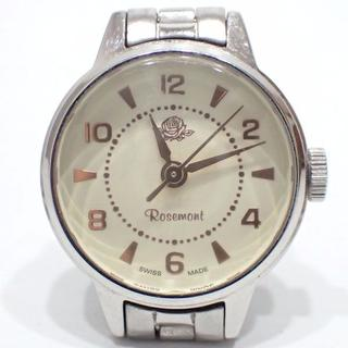 A383 ROSEMONT ロゼモン 腕時計 リストウォッチ シルバー 電池交換(腕時計)
