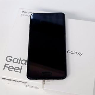 エヌティティドコモ(NTTdocomo)の【未使用】Galaxy Feel SC-04J(SC04J)ブラック【値下げ】(スマートフォン本体)