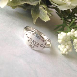 ティファニー(Tiffany & Co.)の美品 TIFFANY&Co. リターントゥ リング15号(リング(指輪))