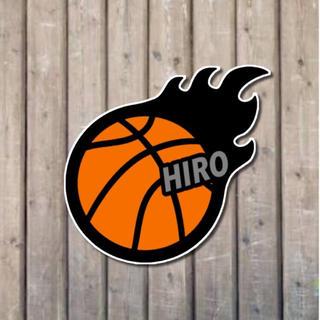 バスケットボールステッカー#110 文字入れオーダー(しおり/ステッカー)