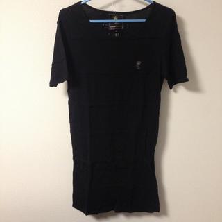 グラッサム(GRASUM)のグラッサム マーダーライセンス ロング丈 カットソー 46(Tシャツ/カットソー(半袖/袖なし))