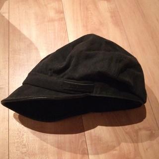 バーバリー(BURBERRY)のBURBERRY ハンチング ブラック(ハンチング/ベレー帽)