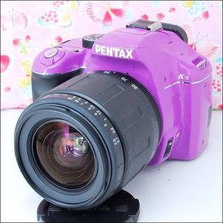 ペンタックス(PENTAX)の★スマホに送れる♪★注目カラーパープル★ペンタックス k-x ★(デジタル一眼)