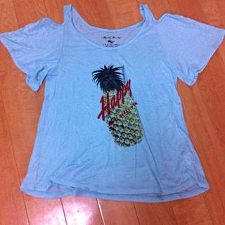 ミスティウーマン(mysty woman)のミスティウーマン☆肩あきTシャツ(Tシャツ(半袖/袖なし))